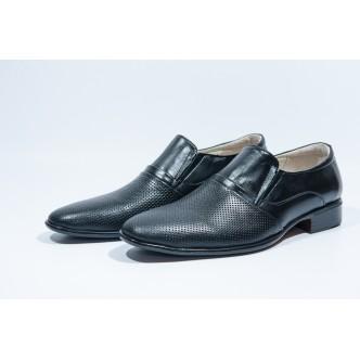 Pantofi Barbatesti Piele Naturala-81 Black
