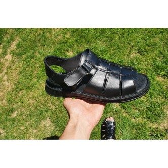 Sandale Piele Naturala 0765 Negru