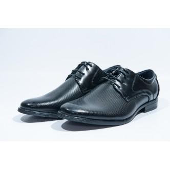 Pantofi eleganti barbatesti-009 Black