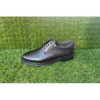 Pantofi Barbatesti Piele Naturala 4212 Negru
