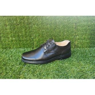 Pantofi Barbatesti Piele Naturala 3212 Negru Siret