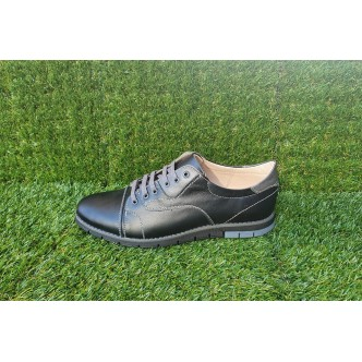 Pantofi Barbatesti Piele Naturala Casual 333 Negru