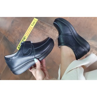 Pantofi din Piele Naturala Angela 205 Black