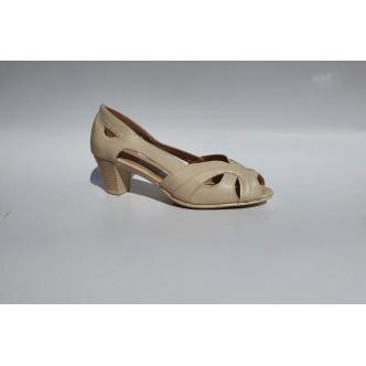 Sandale Decupate Dama 0016 Beige