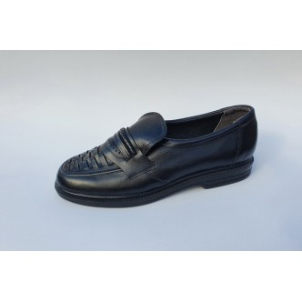 Pantofi Piele Naturala Model 0014 Black