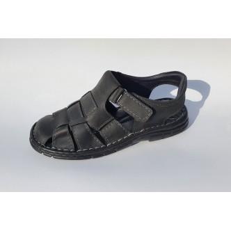 Sandale Piele Naturala 0052 Black
