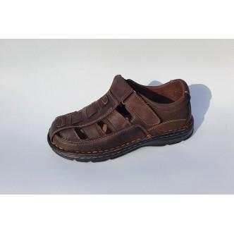 Sandale Piele Naturala 0072 Brown