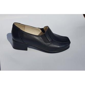 Pantofi Piele Naturala CrissDeea 74 Black
