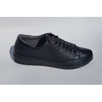 Pantofi Piele Naturala Nicolis 023 Negru
