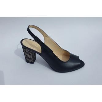 Sandale Piele Naturala 986 Negru