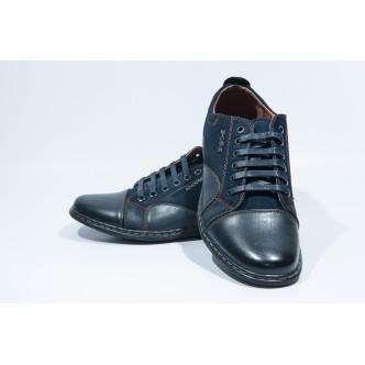 Pantofi casual barbatesti-07 Blue