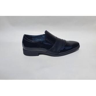 Pantofi Lac 081 Negru Lac